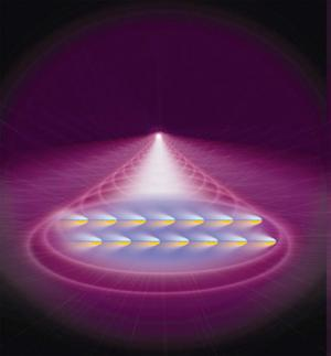 Atoms' Quantum Spin Controlled in Odd Chilled Gas