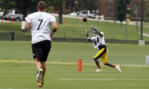 Steelers WR Antonio Brown aims for repeat of 2013