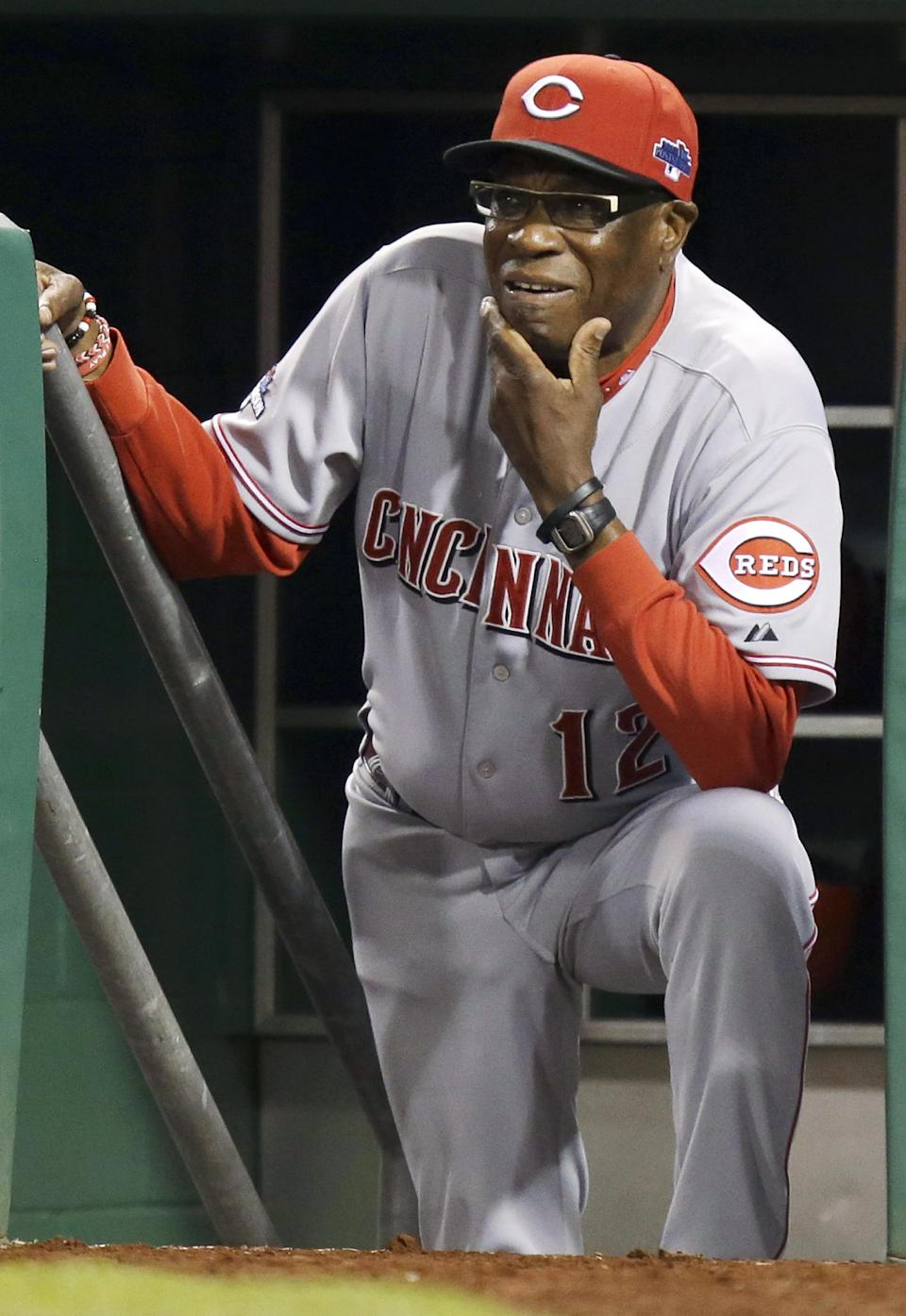 Reds fire manager Dusty Baker after playoff loss