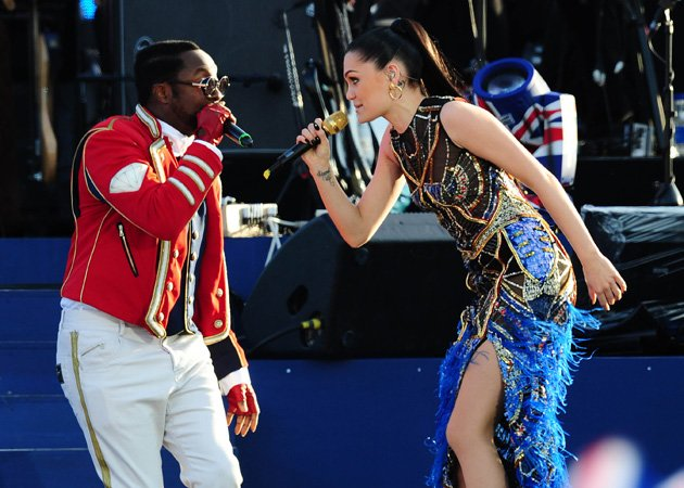 Diamond Jubilee Concert, Will.i.am, Jessie J, duet