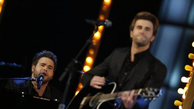 The Swon Brothers perform on 'The Voice,' June 17, 2013 -- NBC