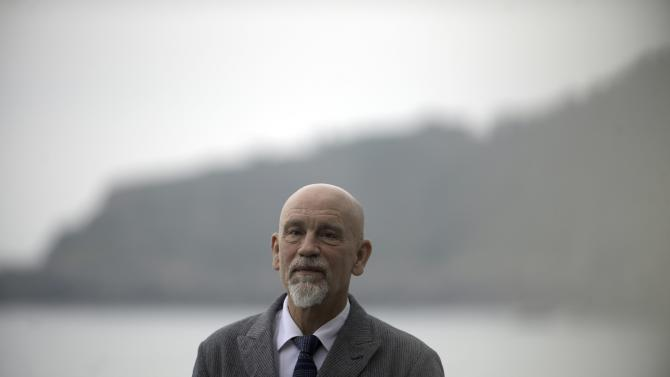 """U.S. actor John Malkovich takes part in a photo call to promote the film """"The Casanova Variations"""" during the 62nd San Sebastian Film Festival"""