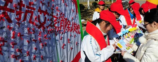 Chinese village votes to expel HIV-positive boy