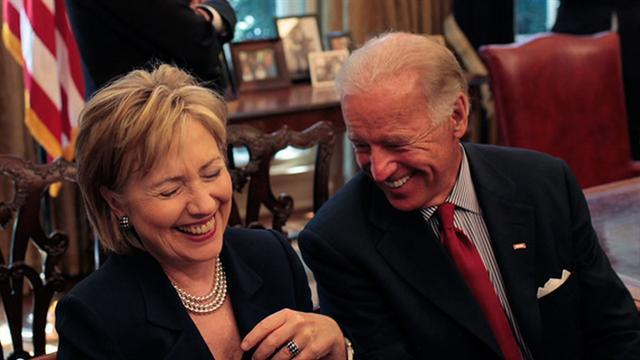 Dems. consider Clinton, Biden for 2016 election