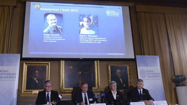 Quantum Physicists Share the Nobel Prize