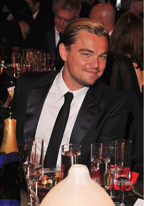 Critics Choice Awards 2012 Party pics Leonardo DiCaprio