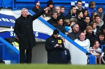 Manchester United 'lacked composure' against Chelsea, admits Sir Alex Ferguson