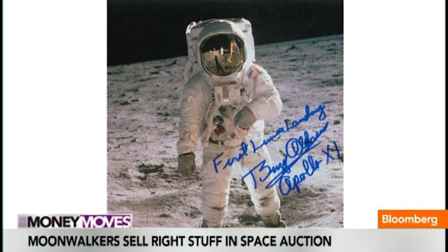 Moonwalkers Sell Right Stuff in Space Auction