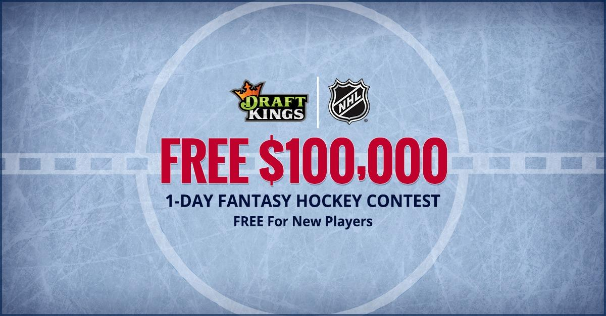 FREE $100K Fantasy Hockey Contest