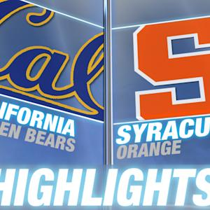 California vs Syracuse | 2014-15 ACC Basketball Highlights