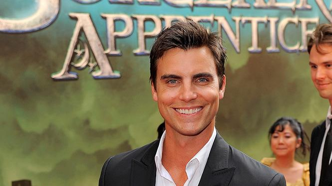 The Sorcerer's Apprentice NY Premiere 2010 Colin Egglesfield
