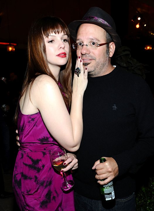 Amber Tamblyn and David Cross attend Entertainment Weeklys celebration honoring the 17th Annual Screen Actors Guild Awards nominees hosted by Jess Cagle and presented by LOreal Paris at Chateau Marm