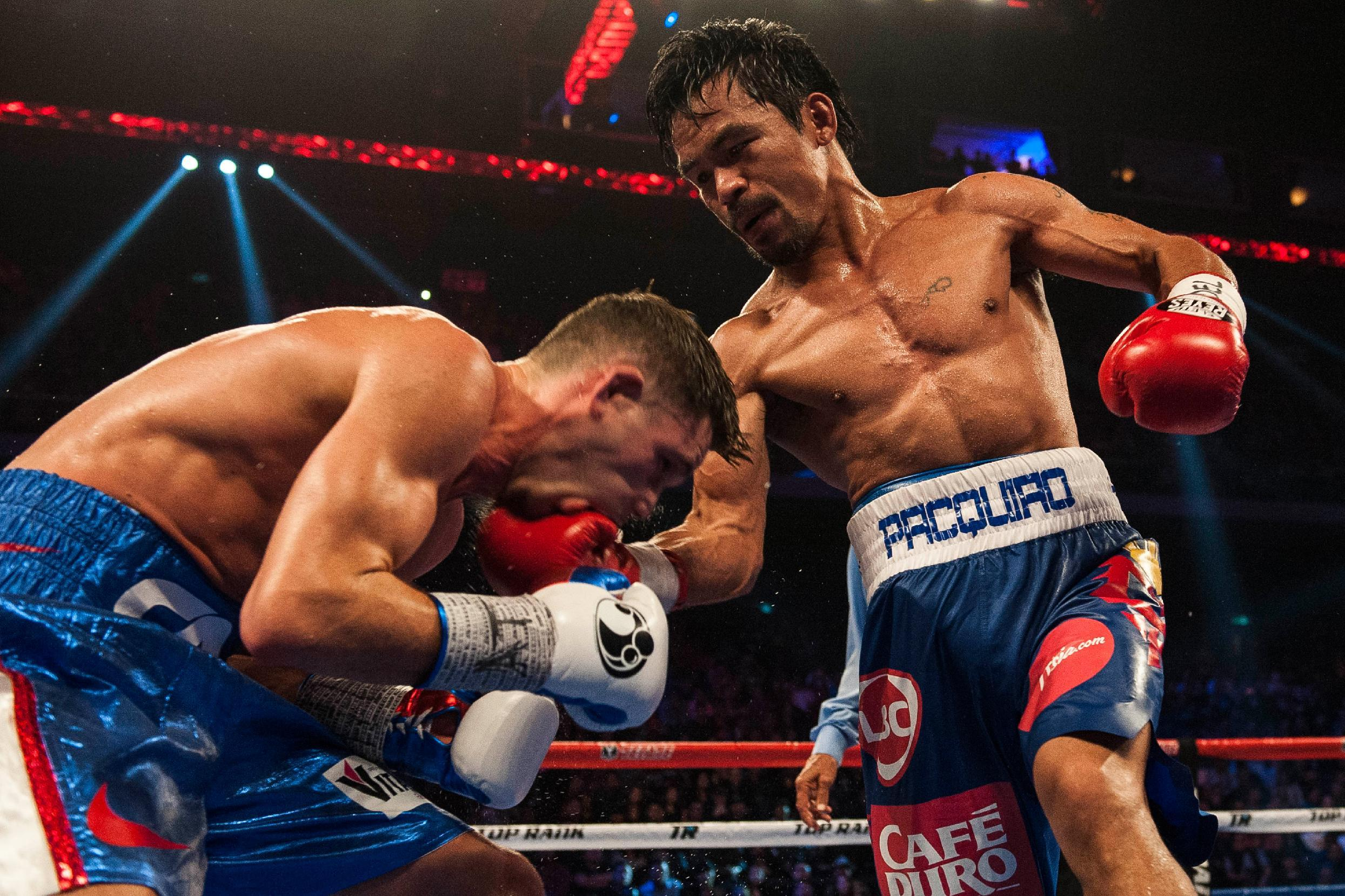 Pacquiao prods Mayweather with another tweet