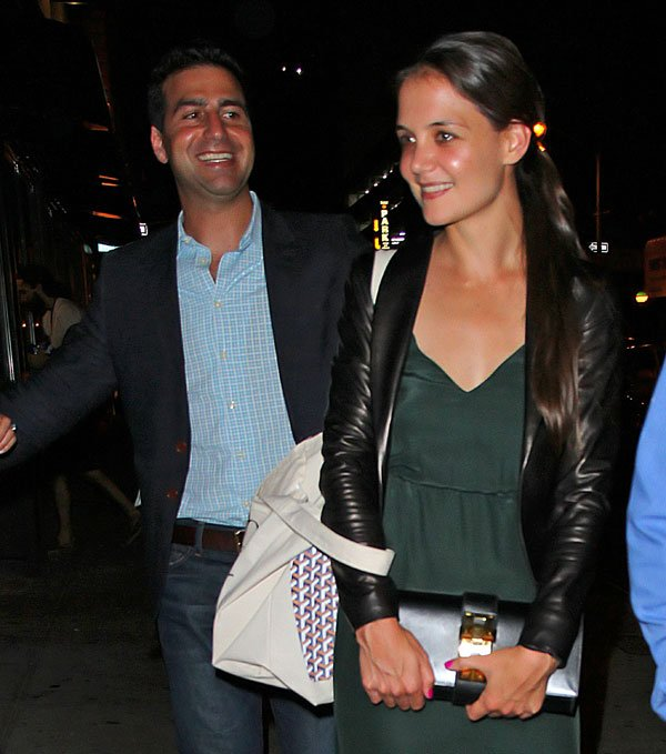 Katie Holmes: First Post Divorce Dinner Date With Mystery Man