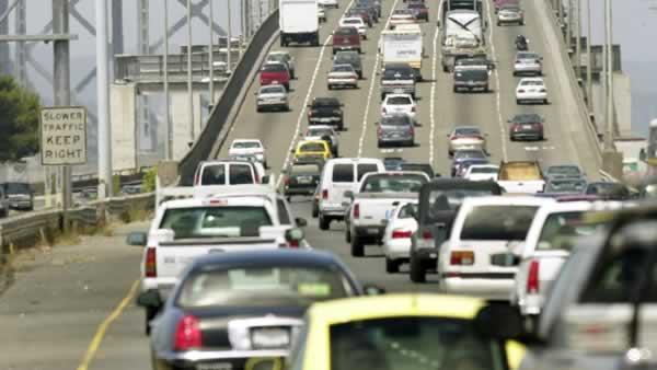 Study: Bay Area traffic among the worst in U.S.