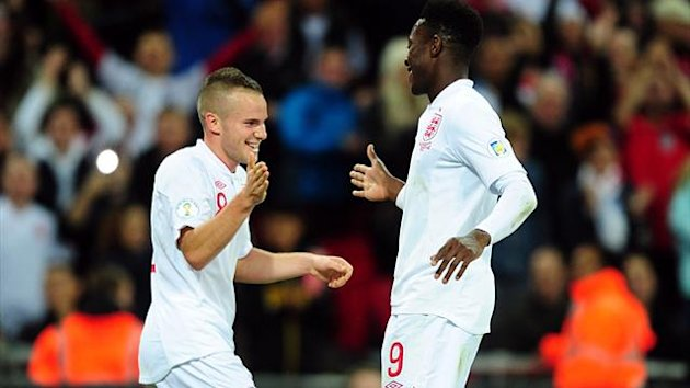 England's and Manchester United starsTom Cleverley and Danny Welbeck both had spells out on loan