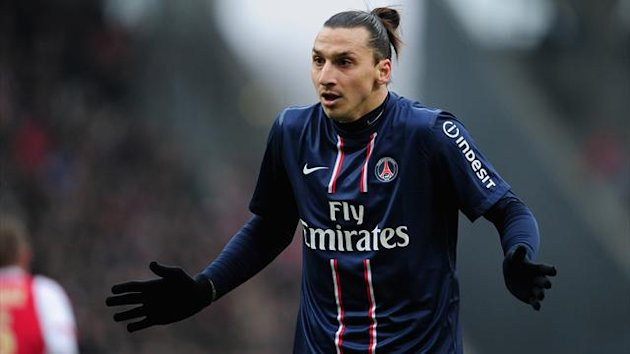 Zlatan Ibrahimovic (Paris St. Germain)
