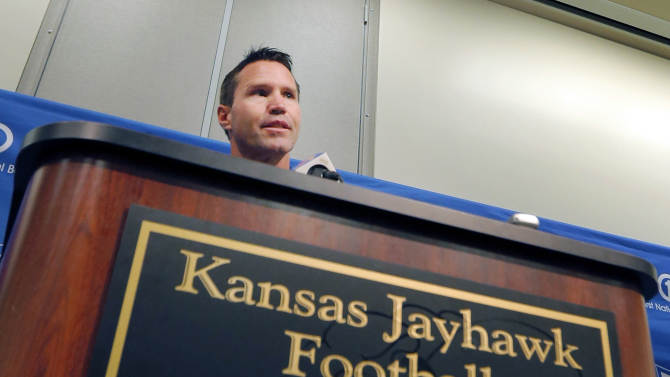 Jayhawks move on from Weis with Bowen at helm