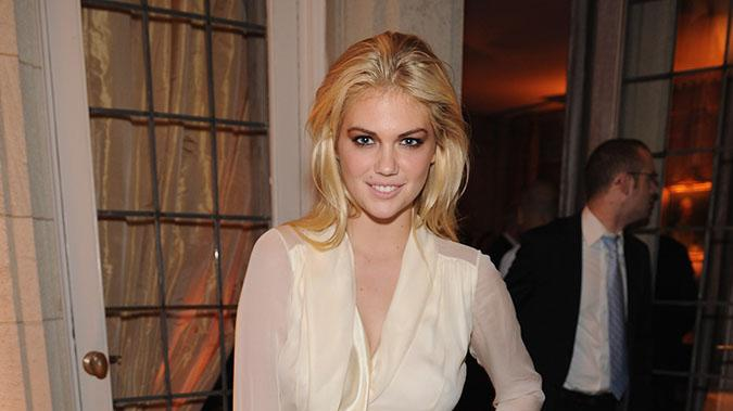 Bloomberg & Vanity Fair Cocktail Reception Following The 2012 White House Correspondents' Association Dinner: Kate Upton