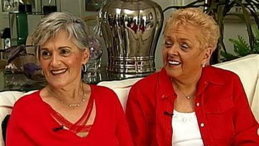 Twin Sisters Reunited After 70 Years Apart