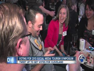 Tweetup held to recruit votes for Cleveland