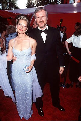 Linda Hamilton and James Cameron 70th Annual Academy Awards Los Angeles, CA 3/23/1998