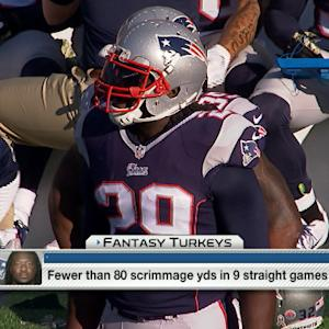 'NFL Fantasy Live': Running back turkeys