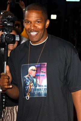 Jamie Foxx at the Beverly Hills premiere of Paramount Pictures' The Manchurian Candidate