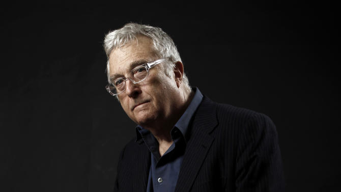 "FILE - This Feb. 7, 2011 file photo shows composer-songwriter Randy Newman posing for a portrait after the Academy Award Nominees Luncheon in Beverly Hills, Calif. Newman is weighing in on the presidential election, and he's playing the race card through a song he wrote. I'm Dreaming"" is full of satirical, sarcastic _ and signature Newman _ anecdotes about someone who votes for the president because he is white. It features the refrain: ""I'm dreaming of a white president."" Newman is openly supporting President Barack Obama. He says though the song is serious, he wants the public to find comedic relief in it. (AP Photo/Matt Sayles, File)"