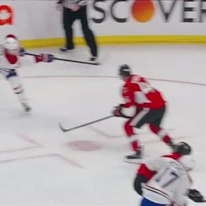 Weise whistles a laser to defeat Sens in OT
