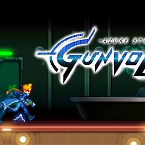 Azure Striker: Gunvolt - Platform Runner - Gameplay
