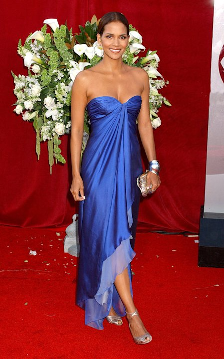 Halle Berry at The 57th Annual Primetime Emmy Awards.