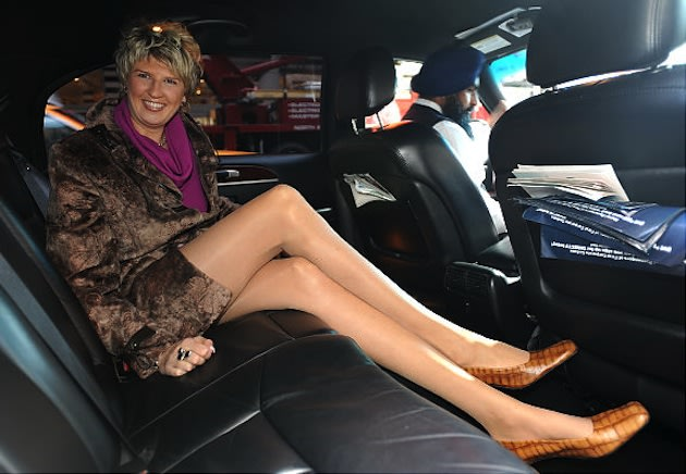 Svetlana Pankratova, the woman with the longest legs in history &#x2014; Getty