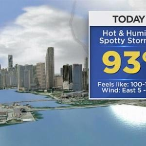 CBSMiami.com Weather @ Your Desk 8/20/14 12:30 PM