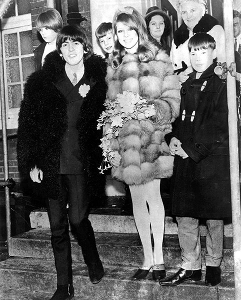 Pattie Boyd &amp; George Harrison