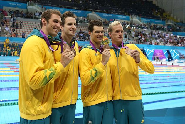 Men's 4x100m medley relay - bronze