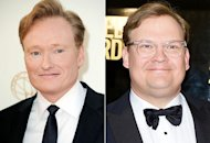 Conan O'Brien, Andy Richter | Photo Credits: Steve Granitz/WireImage, Gilbert Carrasquillo/FilmMagic