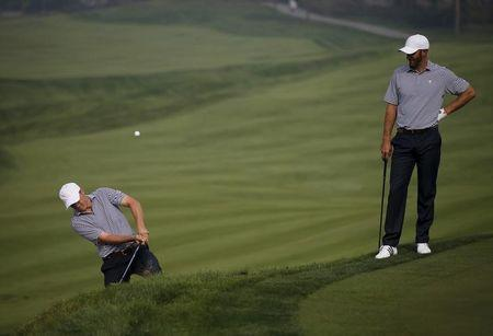 Spieth, Johnson paired for Presidents Cup foursomes