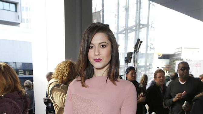 Mary Elizabeth Winstead attends the Film Independent Spirit Awards Luncheon at BOA Steakhouse on Saturday, Jan. 12, 2013, in West Hollywood, Calif. (Photo by Todd Williamson/Invision/AP)