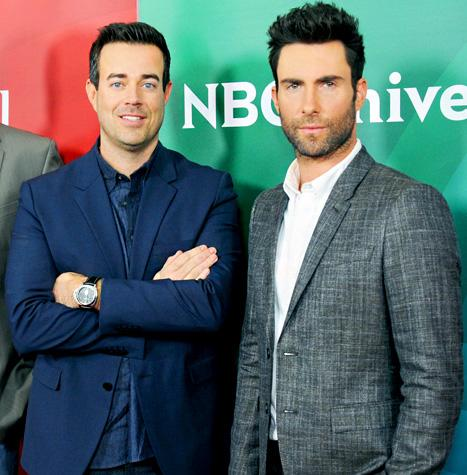 "Carson Daly Mocks Adam Levine's Engagement: ""He's Dated the Entire Victoria's Secret Catalog!"""