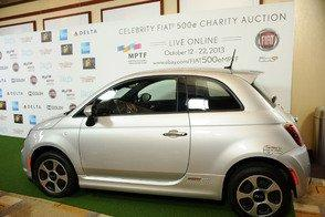"Fiat 500e Personalized by Hugh Jackman Receives Winning Auction Bid of $50,000 During MPTF's ""One Night Only"" Benefit on Saturday, October 12"