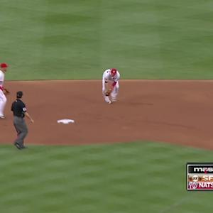 Nats turn nifty double play