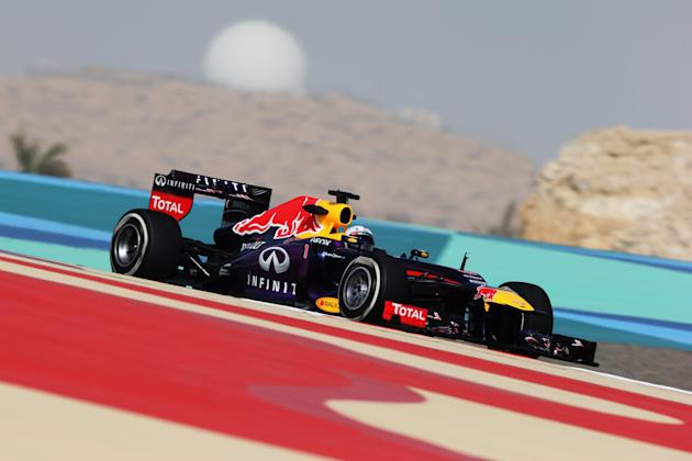 F1 Grand Prix of Bahrain - Practice