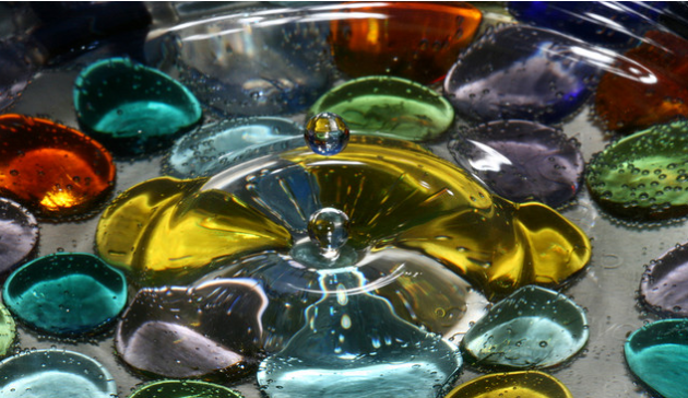 Corrie White, Liquid Drop Art, photography, water art, water droplet, milk droplet, vivid color photography