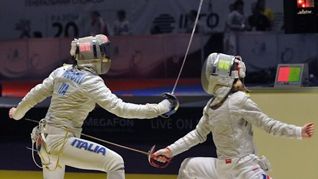 Olympic Games 2012, Irene Vecchi, Fencing (Ag. LaPresse)