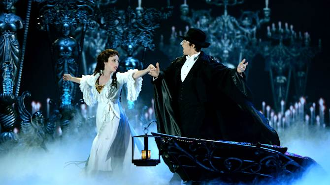 "The cast of ""The Phantom Of The Opera"" performs at the Tony Awards on June 9, 2013 in New York. The musical has collected $6 billion worldwide at the box office"