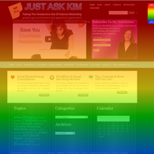 Set Up A HeatMap Test For Your WordPress Site With Experiment.ly image experimently scrollmap home april13 1 1024x1024