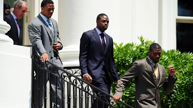 NFL: Baltimore Ravens-White House Visit