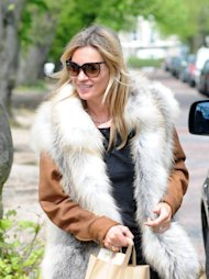 Kate Moss out and about in north London London, England - 30.04.12 Mandatory Credit: WENN.com