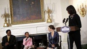 Michelle Obama Honors 'Beasts of the Southern Wild,' Raves About Quvenzhane Wallis